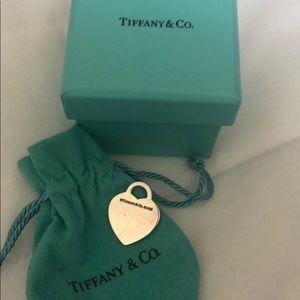 Tiffany & Co. Accessories - Tiffany & Co heart tag pendant